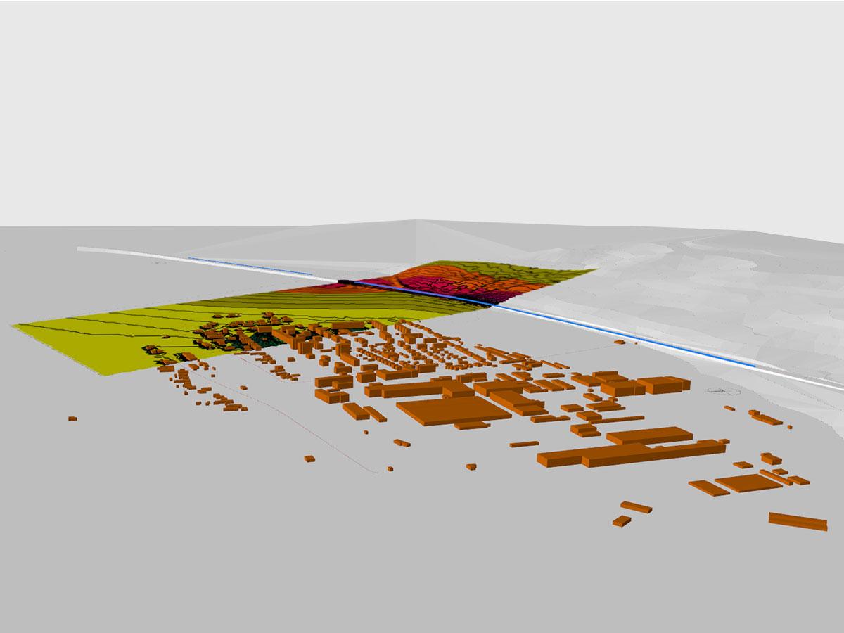 Posúdenie vplyvu hluku z diaľničného úseku