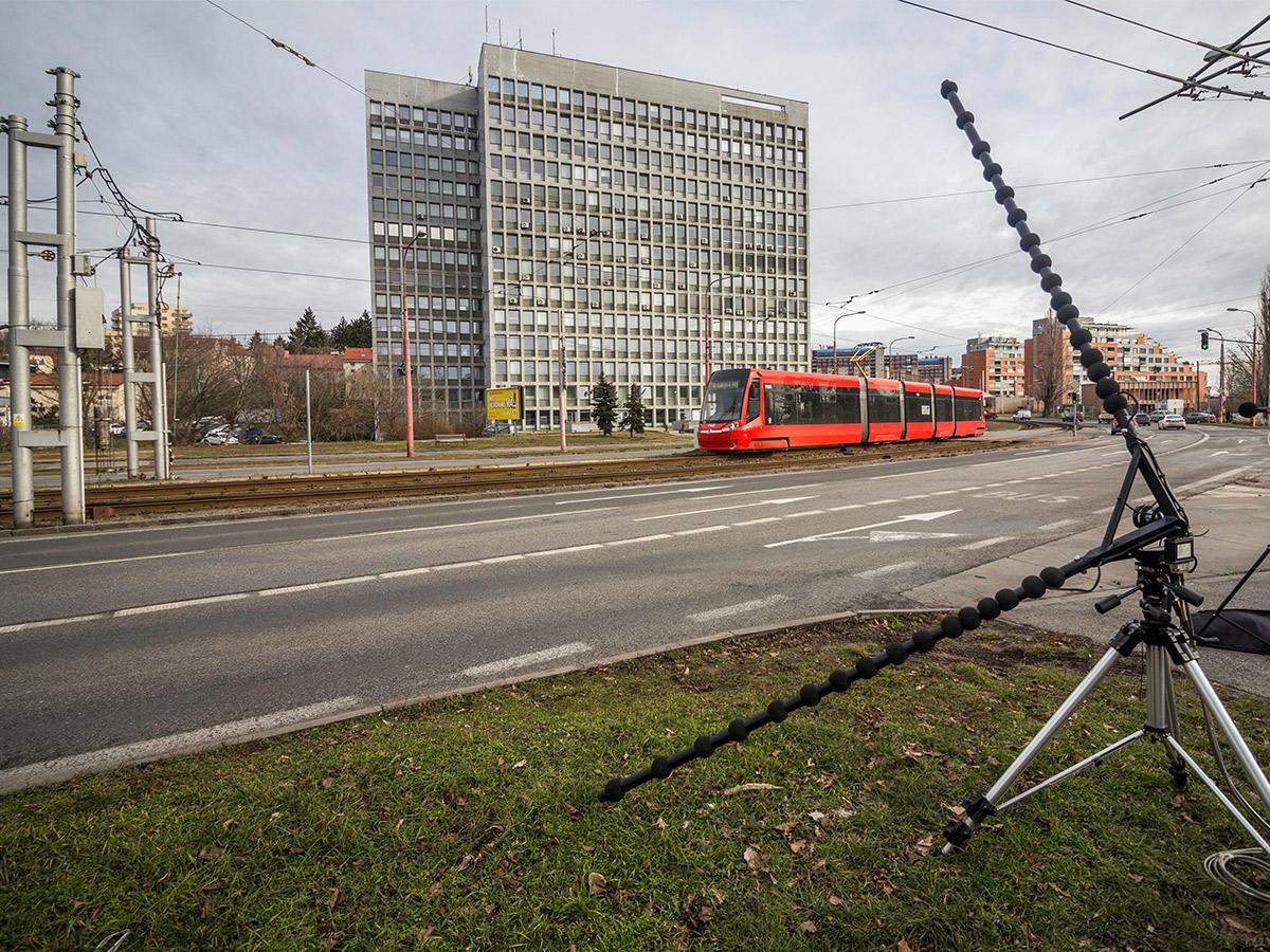 Lokalizácia zdrojov hluku z dopravy